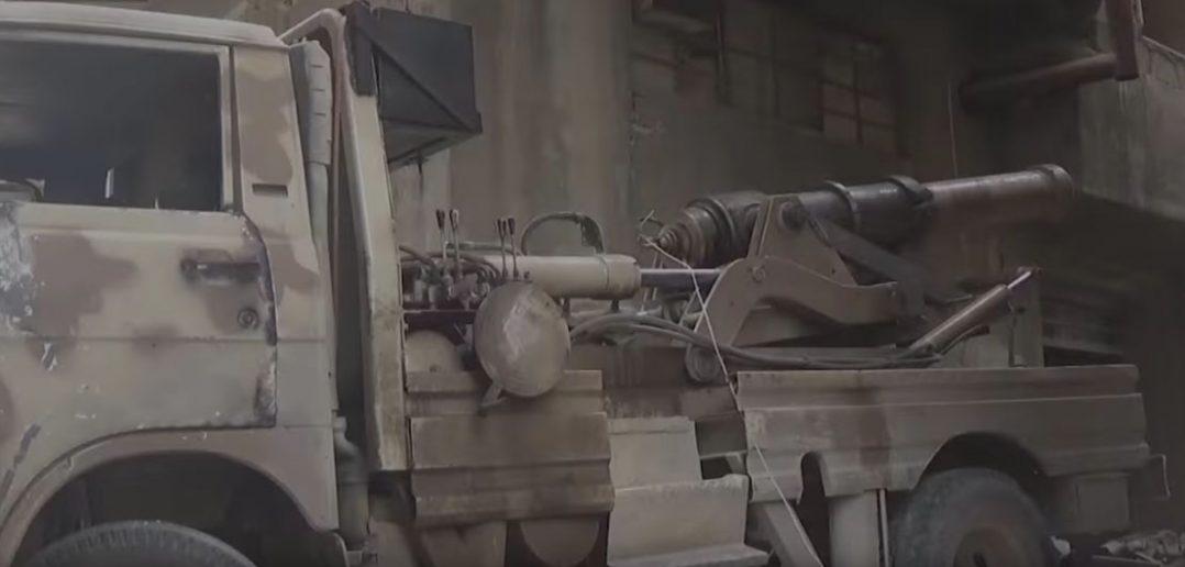 XIX-wieczna armata w Syrii - film