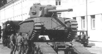 Czołg ciężki ARL-44 - francuski składak