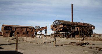 Opuszczone kopalnie saletry - Humberstone i Santa Laura