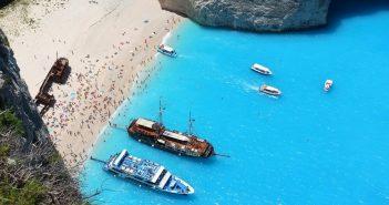 Plaża Nawajo i wrak MV Panagiotis