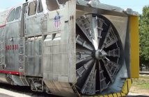 Union Pacific Rotary Snowplow