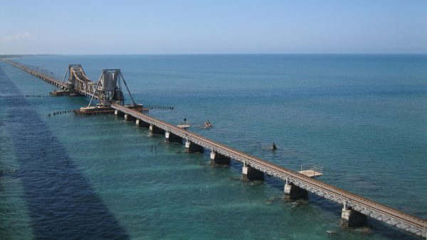 Pamban Bridge (fot. Shubham Gupta)