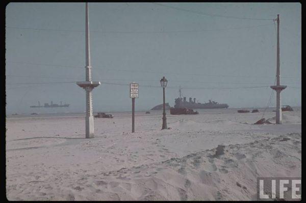 Wrak jednego z niszczycieli zatopionych w pobliżu Dunkierki (fot. LIFE)