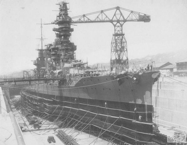 Japoński pancernik Fuso z czasów I wojny światowej. Wykorzystywano go z powodzeniem do 1944 roku. Niestety został zatopiony w trakcie nocnej bitwy w cieśninie Surigao