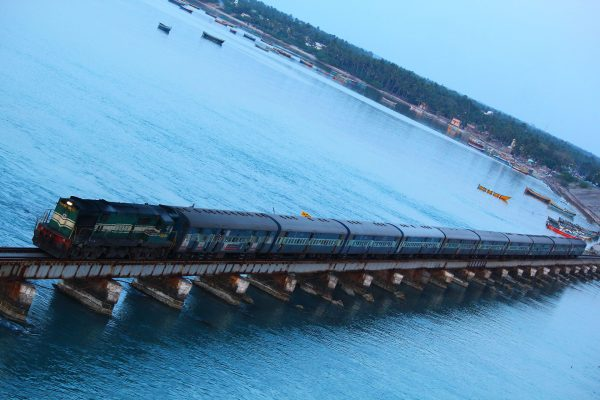 Pamban Bridge (fot. Kamalbadri/Wikimedia Commons)