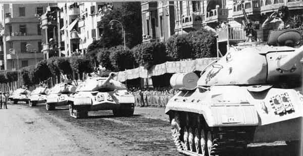 Egipskie czołgi ciężkie IS-3