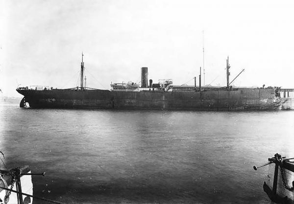 Storstad po zderzeniu z Empress of Ireland (fot. wikipedia.org)