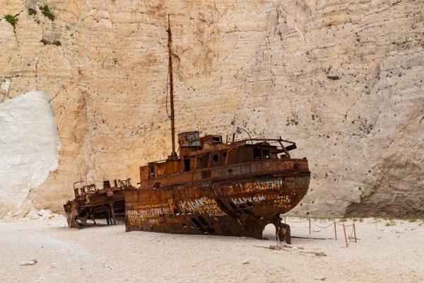 Wrak MV Panagiotis (fot. Falco Ermert)