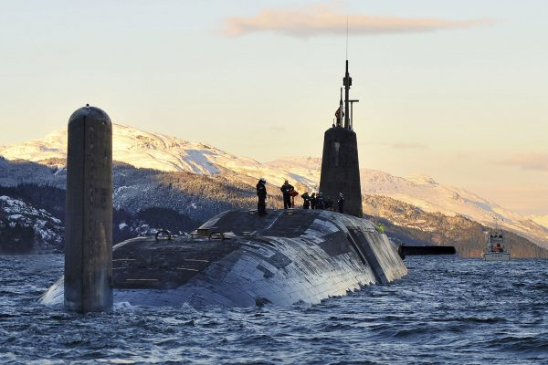 Okręt podwodny HMS Vanguard