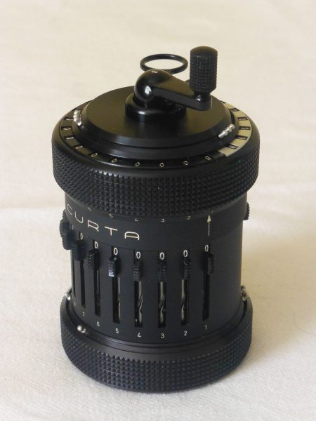 Kalkulator mechaniczny Curta Type I