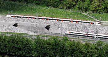 Gotthard-Basistunnel - najdłuższy tunel kolejowy na świecie