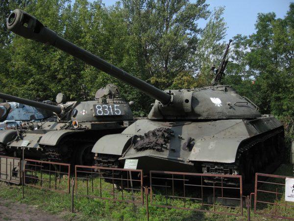 Drugi Polski IS-3 w muzeum w Warszawie
