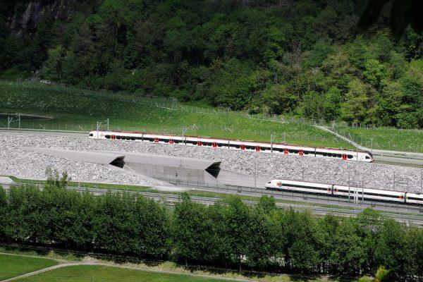 Gotthard-Basistunnel (fot. Zacharie Grossen)