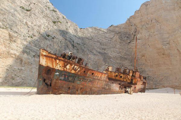 Wrak MV Panagiotis (fot. Przemek Pietrak)