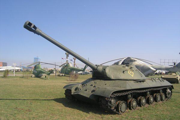 IS-3 w muzeum w Rosji