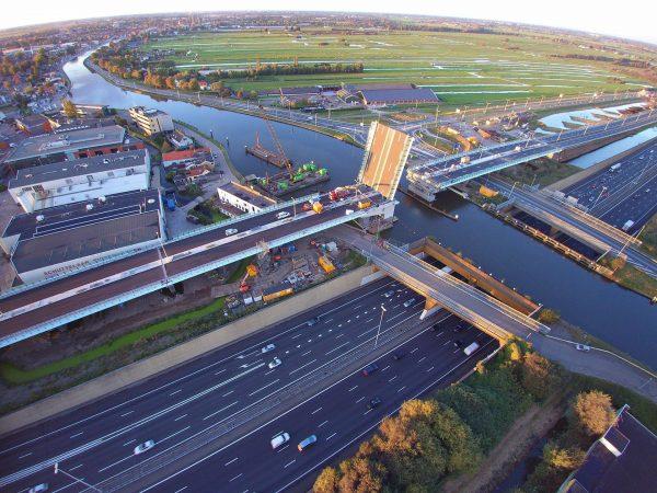 Most Amalia w październiku 2016 roku (fot. Chris Stegehuis)