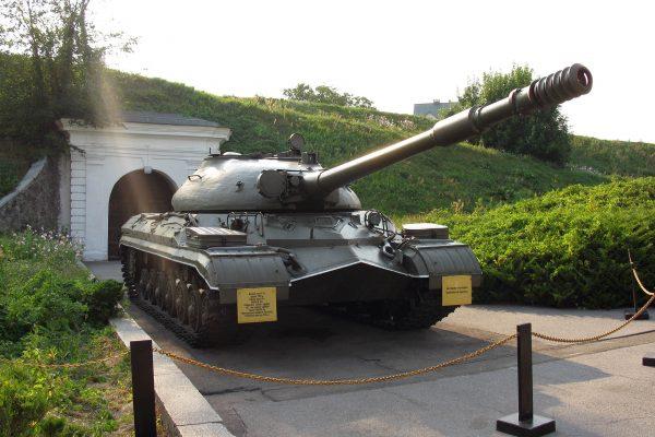 T-10 współcześnie w muzeum