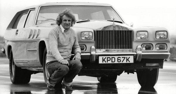 John Dodd i jego The Beast (Merlincar)