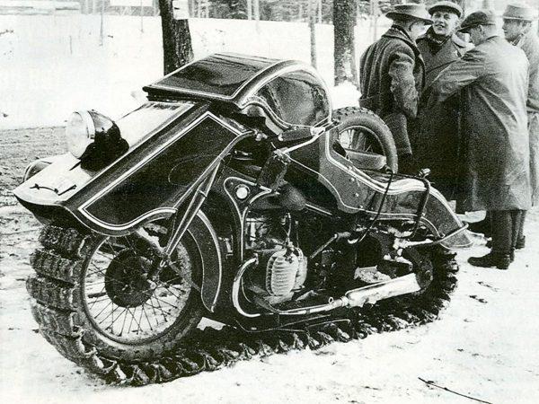 BMW Schneekrad