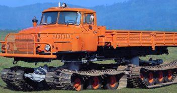 Ural-5920 (Nami-0157) - nietypowy pojazd gąsienicowy