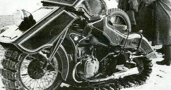 BMW Schneekrad - motocykl na gąsienicach - zdjęcie