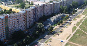 Gdańskie Falowce - jedne z najdłuższych budynków w Polsce
