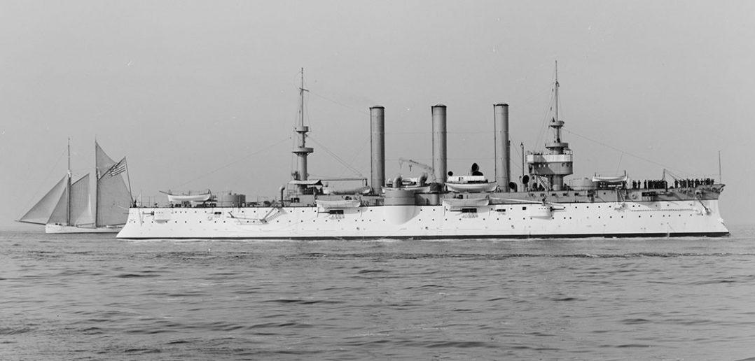 USS Brooklyn - amerykański krążownik pancerny z przełomu wieków