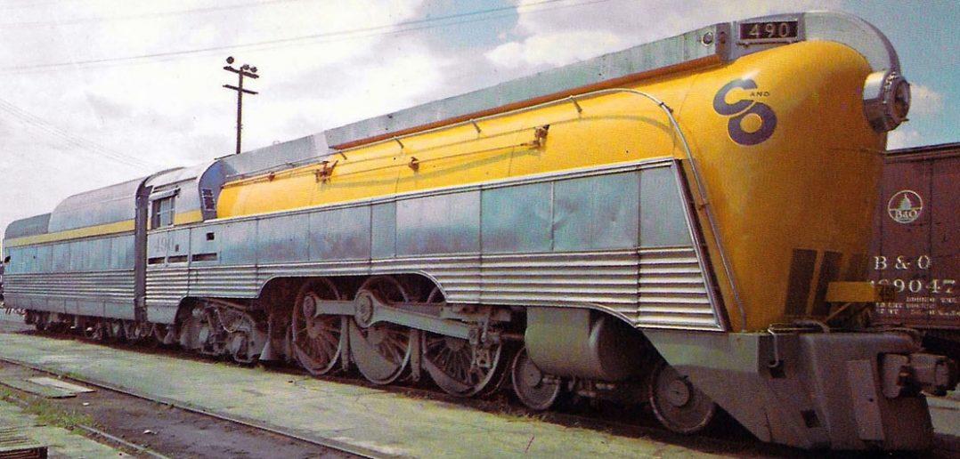 Wyjątkowa lokomotywa C&O No. 490