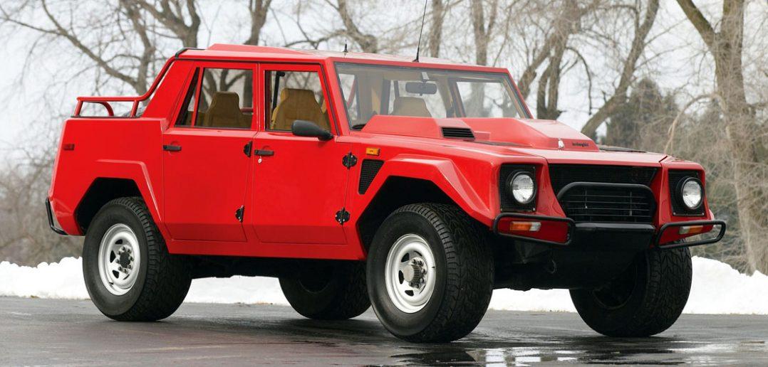 Lamborghini LM002 - jedyny w swoim rodzaju SUV