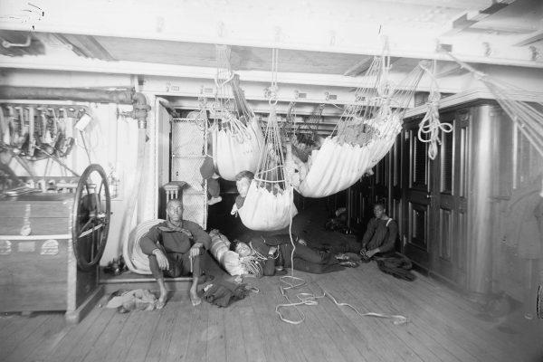 Pomieszczenia załogi USS Brooklyn