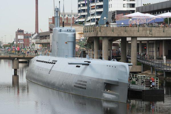 U-2540 współcześnie - jeden z 4 zachowanych okrętów typu XXI