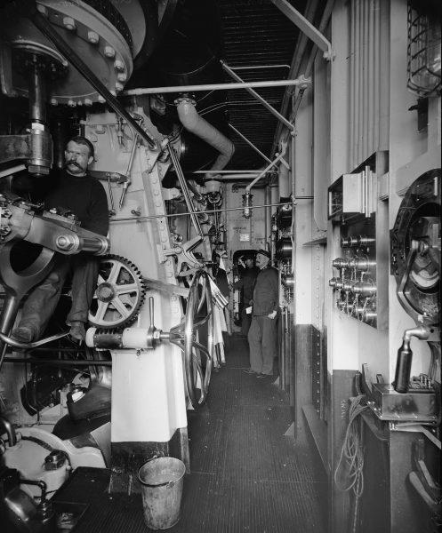 Maszynownia USS Brooklyn