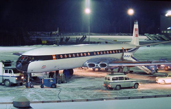 de Havilland Comet (fot. Lars Soderstrom)