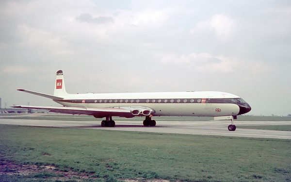 de Havilland Comet (fot. Dave Jones)