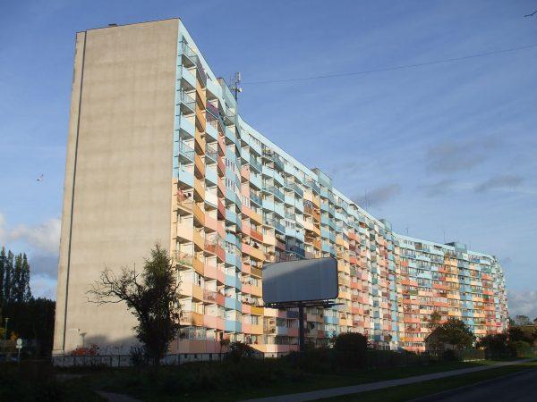 Falowiec przy Nowym Porcie (fot. Tomasz Przechlewski)