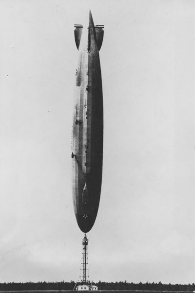 USS Los Angeles w Lakehurst - 25 sierpnia 1927 roku