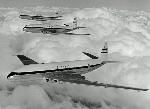 de Havilland Comet (fot. RAScholefield Collection)