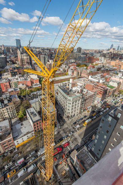 Hotel w trakcie budowy (fot. The Rinaldi Group)