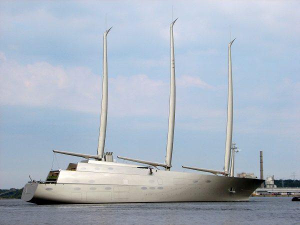 Sailing Yacht A (fot. Feliz/Wikimedia Commons)