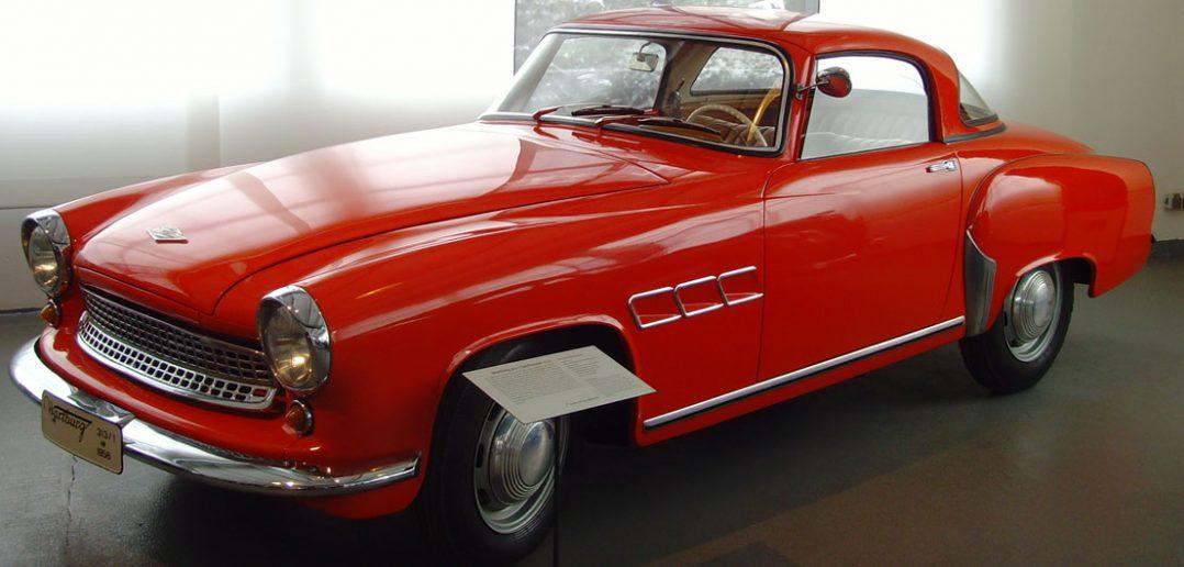 Wartburg 313 Sport - sportowy roadster z NRD