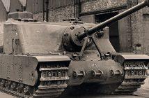 A39 Tortoise - brytyjski ciężki czołg szturmowy