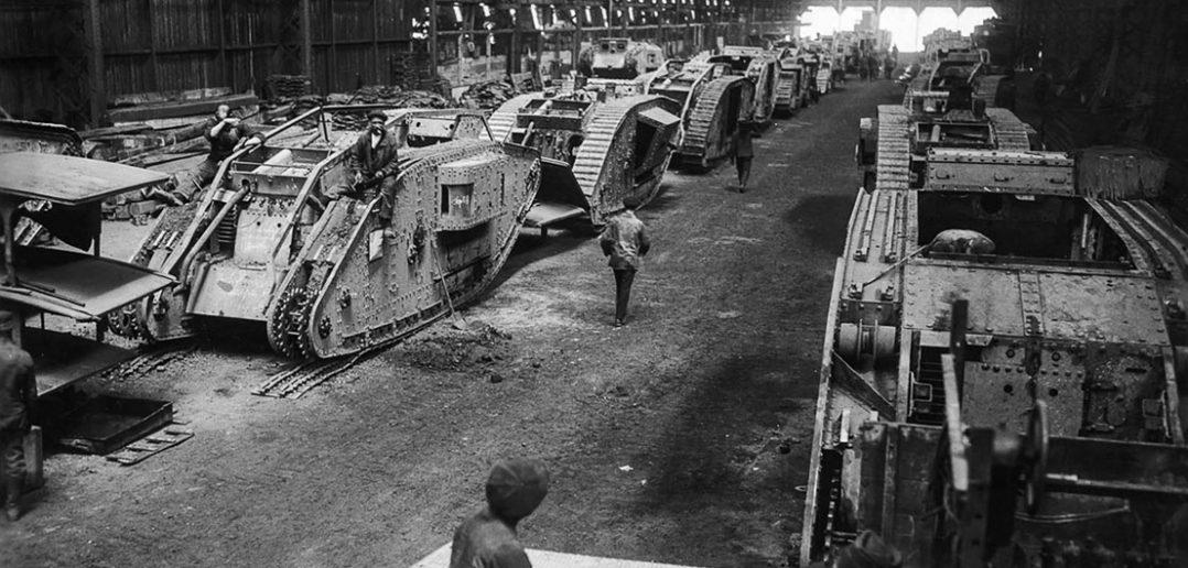 Historia powstania pierwszych czołgów