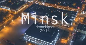 Mińsk 2016 - Dronlapse - film