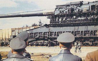 80 cm Kanone 5 Gustav - największe działo kolejowe w historii