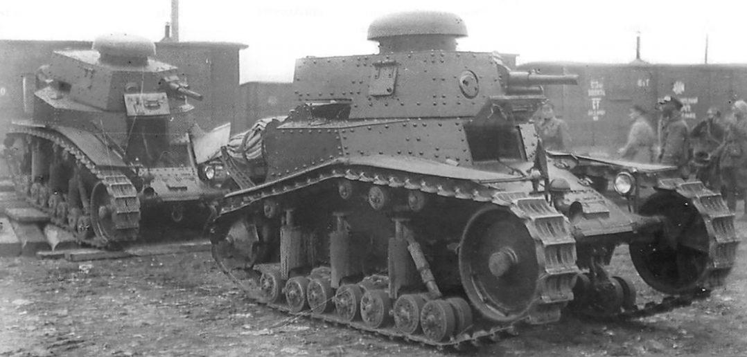 MS-1 - pierwszy radziecki czołg