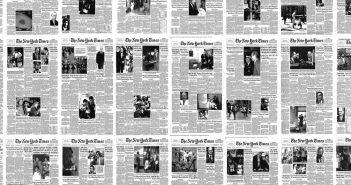 Tak zmienił się New York Times od 1852 roku - film