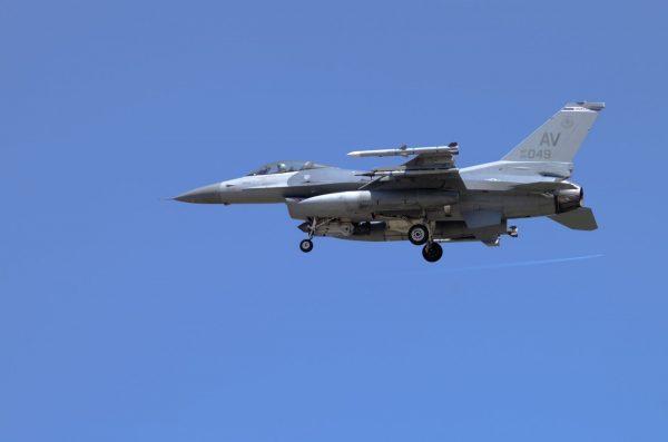 F-16 (fot. Łukasz Kuliberda)