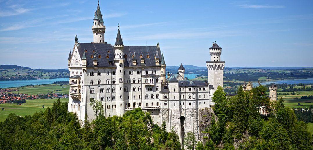 Neuschwanstein - najpiękniejszy zamek na świecie