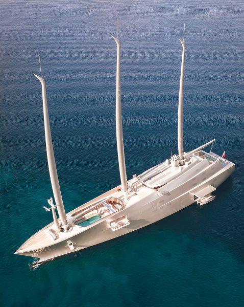 Sailing Yacht A (fot. Kieler seagull/Wikimedia Commons)