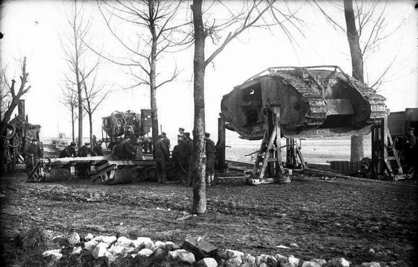 Polowy zakład remontowy czołgów Mark IV